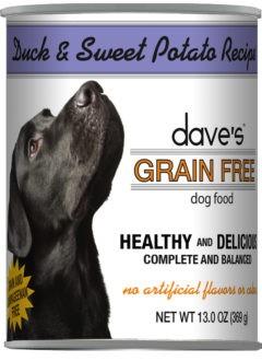 Dave's Dave's Pet Food Duck & Sweet Potato Dog Food, 13 oz can