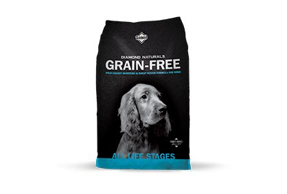 Diamond Diamond Naturals Grain Free Dry Dog Food, Whitefish & Sweet Potato 28 lb bag