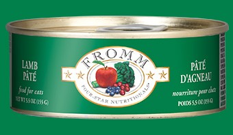 Fromm Fromm Lamb Pate Cat Can Food, 5.5 oz can