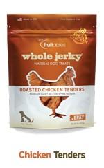 Fruitables Fruitables Whole Jerky Chicken Tender Strips Dog Treats, 5 oz bag