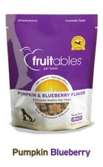 Fruitables Fruitables Crunchy Pumpkin & Blueberry Treat, 7 oz bag