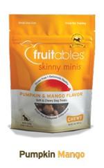 Fruitables Fruitables Skinny Minis Chewy Pumpkin & Mango Treats, 5 oz bag