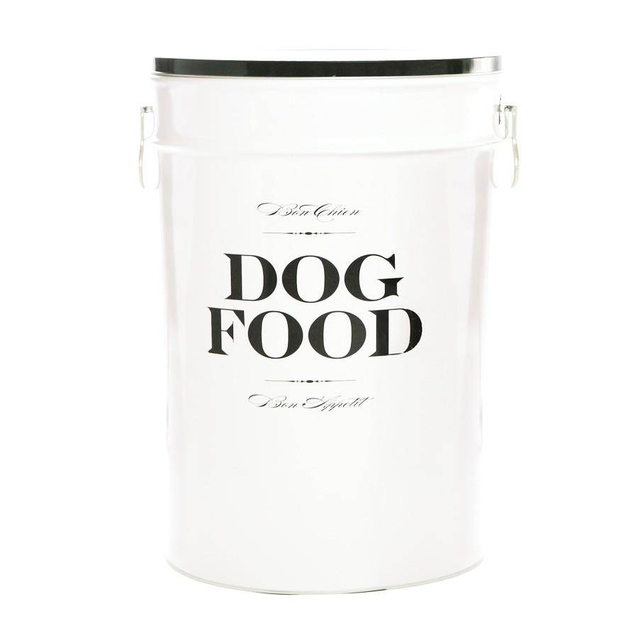 Harry Barker Harry Barker Bon Chien Dog Food Storage Container White-Small