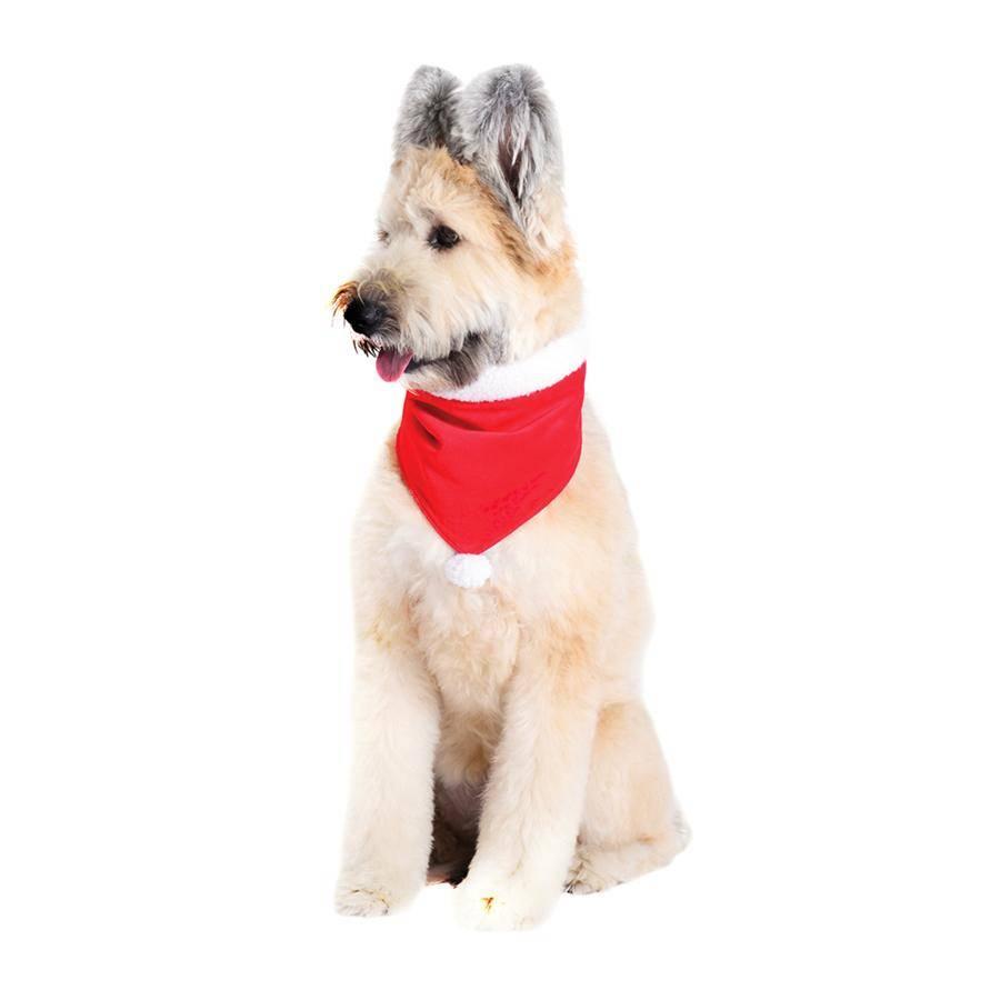 Harry Barker Harry Barker Velvet Dog Bandana Red Large