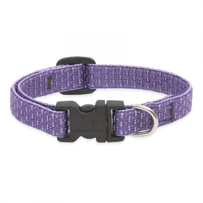 "Lupine Lupine Eco - Lilac 1/2"" Width Collar Small 8-12"""