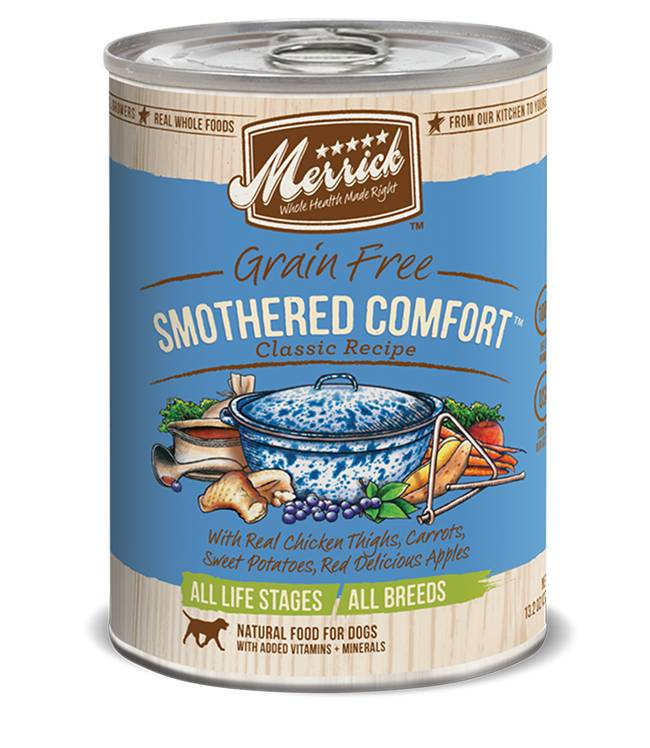 Merrick Merrick Smothered Comfort Dog Food, 13.2 oz can