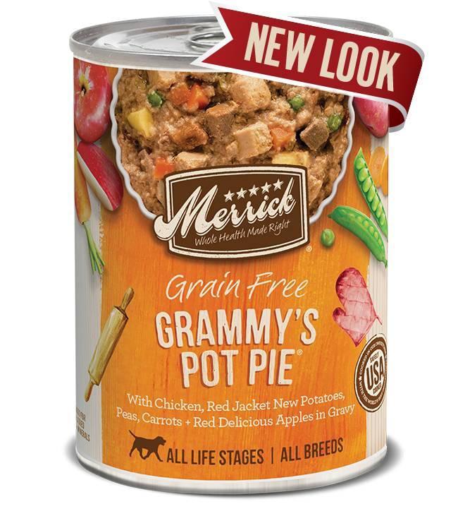 Merrick Merrick Grammy's Pot Pie Dog Food, 13.2 oz can
