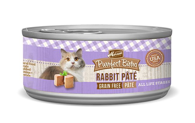 Merrick Merrick Purrfect Bistro Rabbit Pate, 5.5 oz can