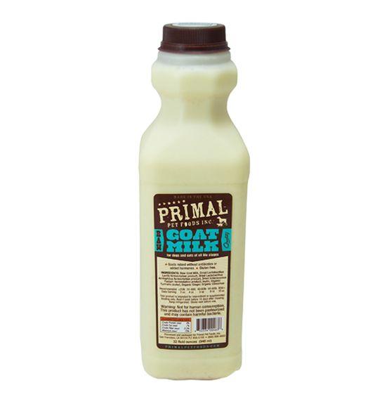 Primal Primal Frozen Raw Goat Milk, 16 oz bottle