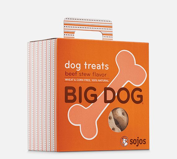 Sojos Sojos Big Dog Beef Stew Treat, 12 oz box