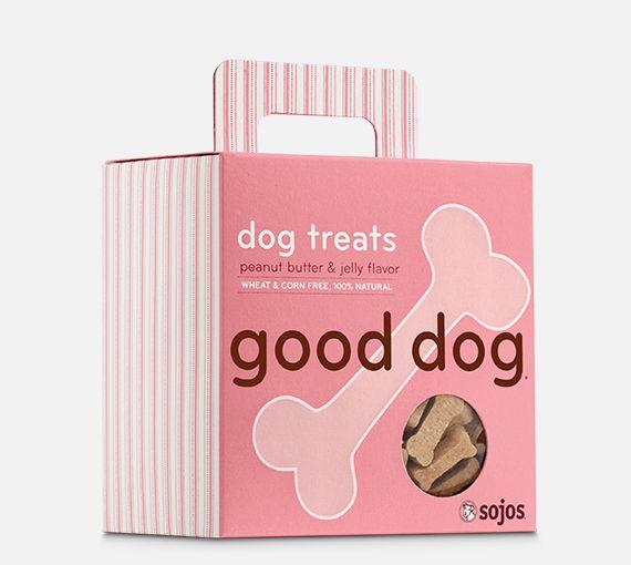 Sojos Sojos Good Dog Peanut Butter & Jelly Treat, 8 oz box