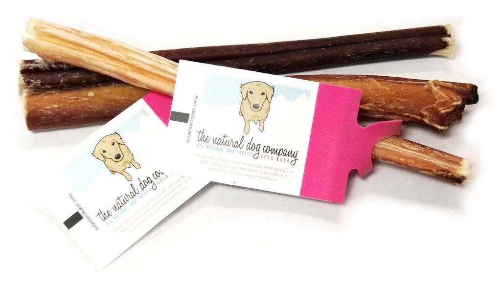 "The Natural Dog Company The Natural Dog Company - 6"" Skinny Bully Sticks Odor Free"