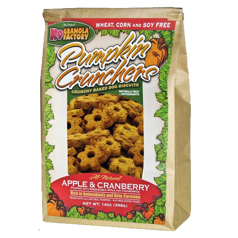 K9 Granola Factory K9 Granola Apple Cranberry Pumpkin Cruncher, 14 oz bag
