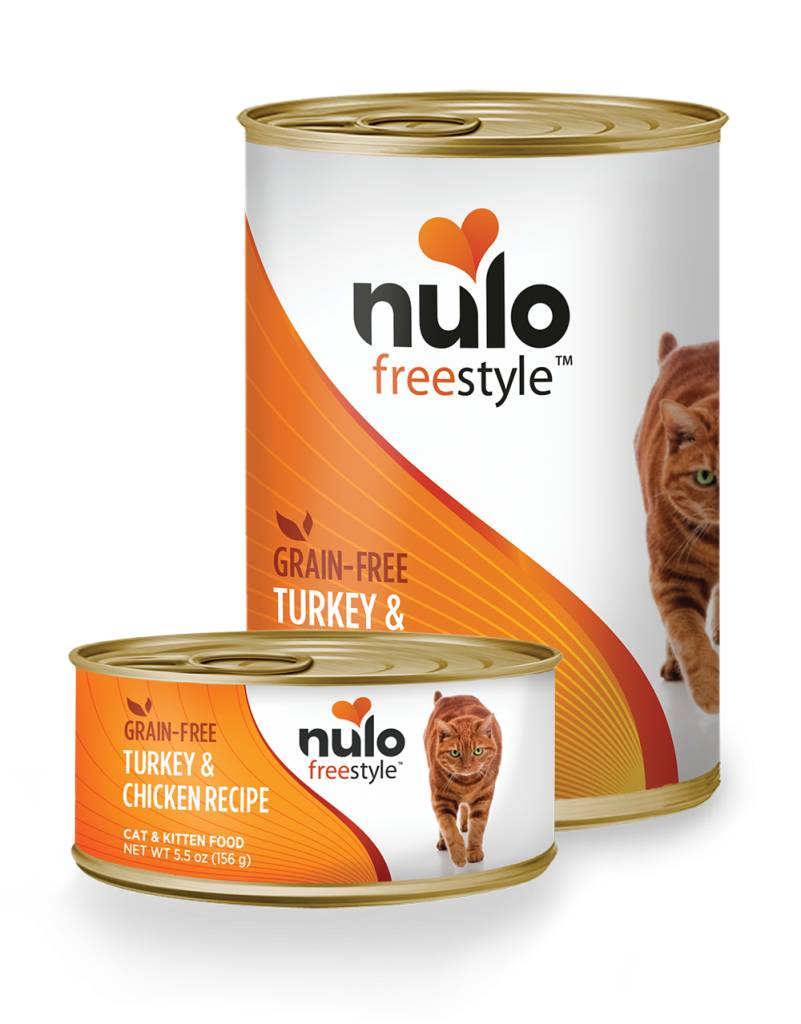 Nulo Nulo Freestyle Turkey & Chicken Canned Cat & Kitten Food, 5.5 oz can