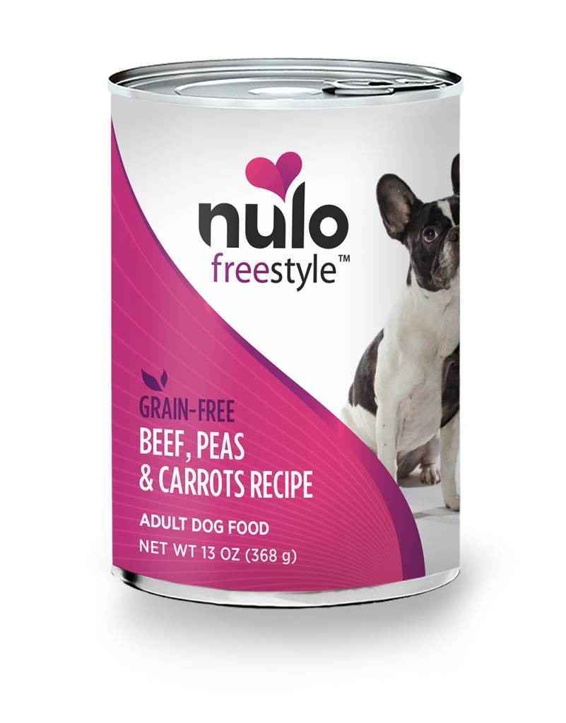 Nulo Nulo Freestyle Beef, Peas & Carrots Potato Canned Dog Food, 13 oz can