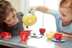 Green Toys Gender Neutral Tea Set by Green Toys