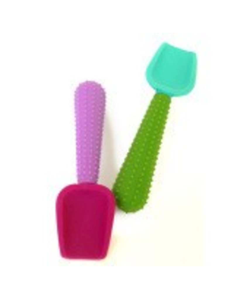 Silikids Silicone 2-Pack Shovel Spoons by Silikids