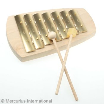 Auris 7-Tone Pentatonic Glockenspiel Straight by Auris