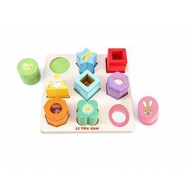 Le Toy Van Petilou Sensory Shapes Puzzle by Le Toy Van