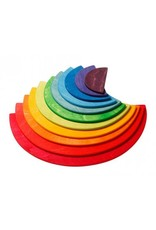Grimms Large Semicircles, Rainbow (11 Pieces)