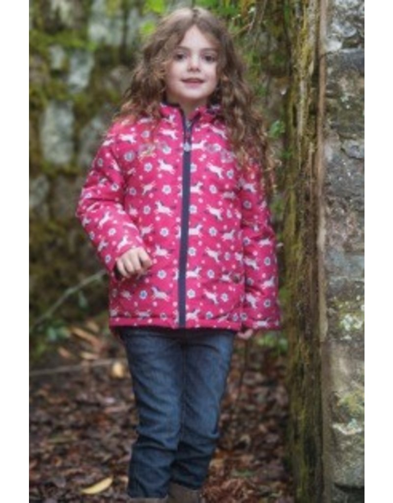 Frugi Warm Fleece Lined Shower Proof Adventure Coats by Frugi