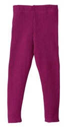 Disana Organic Wool Knitted Legging by Disana (Solid Colours)