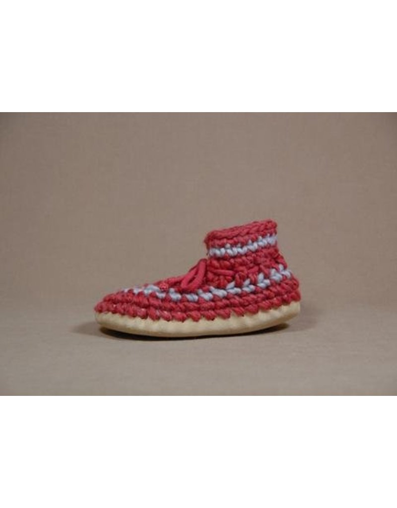 Padraig Youth Padraig Slippers with Wool Sheepskin & Leather