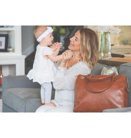 Oemi Baby Luxury Leather Diaper Bag by Oemi Baby