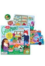 Eeboo Green Market Spinner Game by Eeboo
