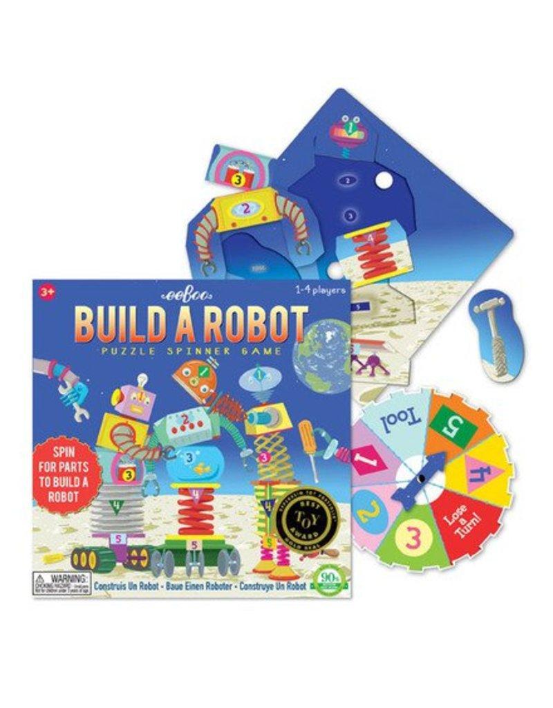Eeboo Build a Robot Spinner Game by Eeboo
