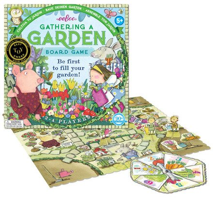 Eeboo Gathering a Garden Board Game