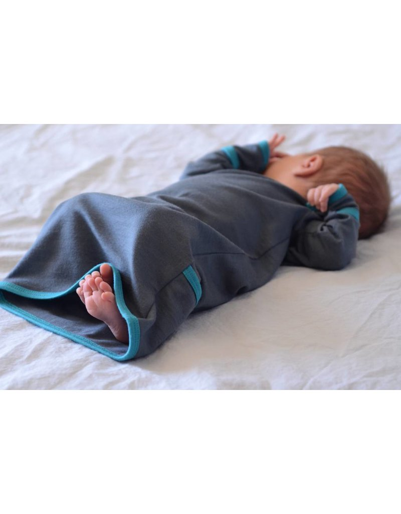 Wee Woollies Merino Wool Infant Gown by Wee Woollies