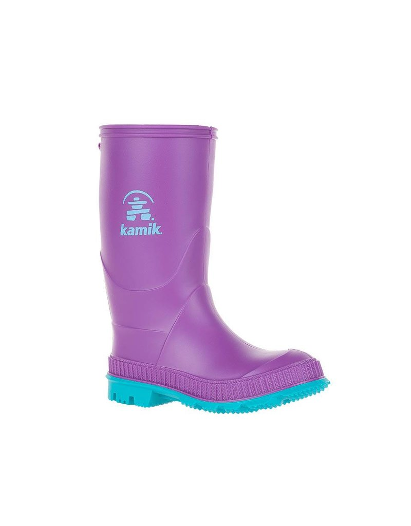Kamik Dewberry Stomp Style Rubber Rain Boots by Kamik