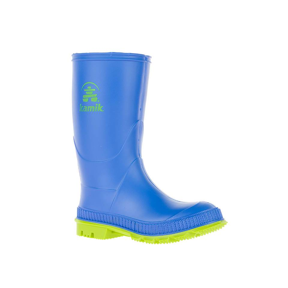 Kamik Blue Stomp Style Rubber Rain Boots by Kamik