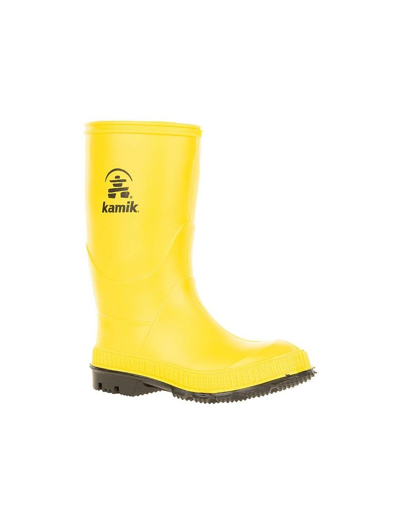 Kamik Yellow Stomp Style Rubber Rain Boots by Kamik
