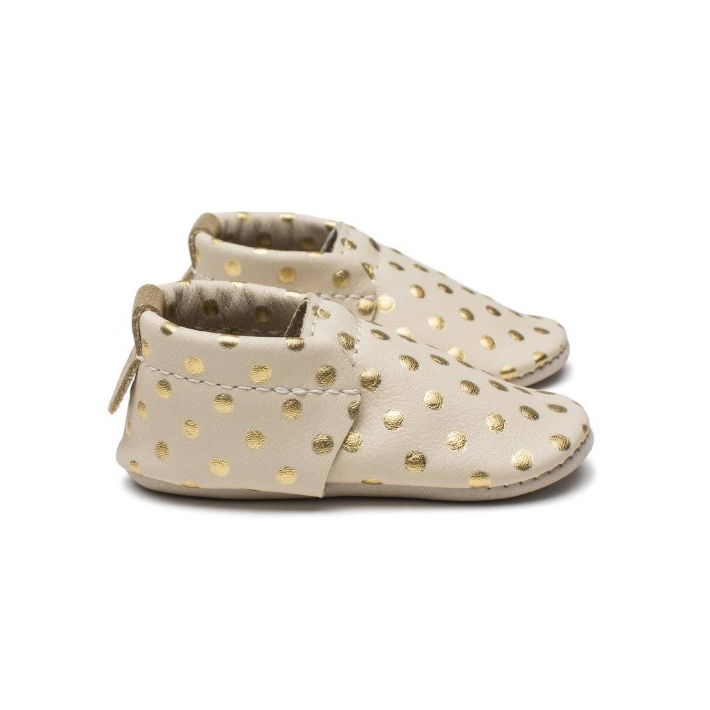 Minimoc Minimocs Leather Soft Sole Shoes (No Fringe- Shoe Style)