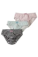 Frugi Organic Cotton Girls Underwear 3-Pack by Frugi