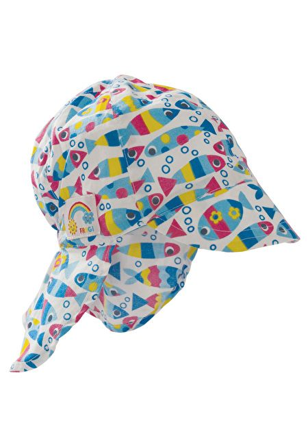 Frugi Organic Cotton Legionnaires Hat with Back Flap by Frugi