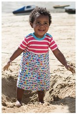 Frugi Little Girl Boat Neck Body Dress by Frugi