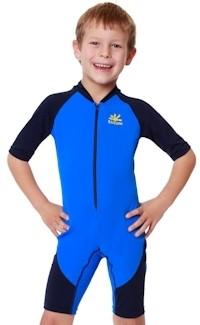 NoZone Big Kids UPF 50 Sun Protection Swim Suit by NoZone