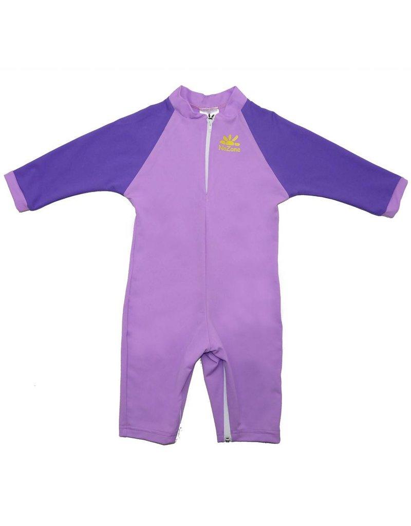 NoZone One-Piece UPF 50 Baby Sun Protection Swim Suit by NoZone