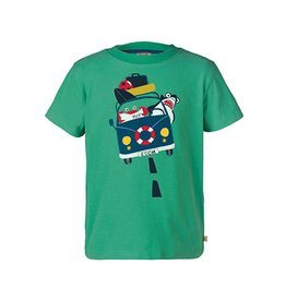 Frugi Organic Cotton Printed Boys T-Shirts by Frugi