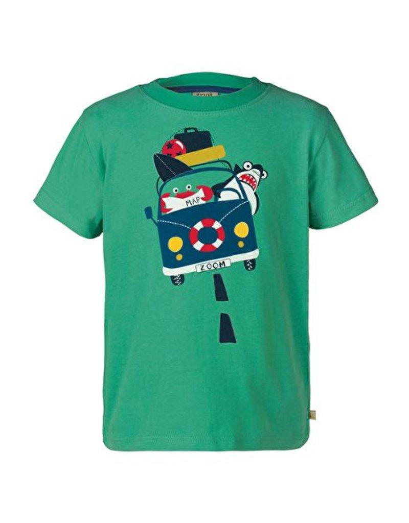 Organic cotton printed boys t shirts by frugi in victoria for Organic cotton t shirt printing