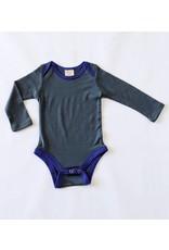 Wee Woollies Merino Wool Long Sleeve Body Suit by Wee Woollies