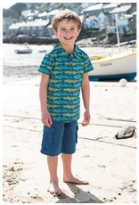 Frugi Organic Cotton Twill Explorer Shorts by Frugi