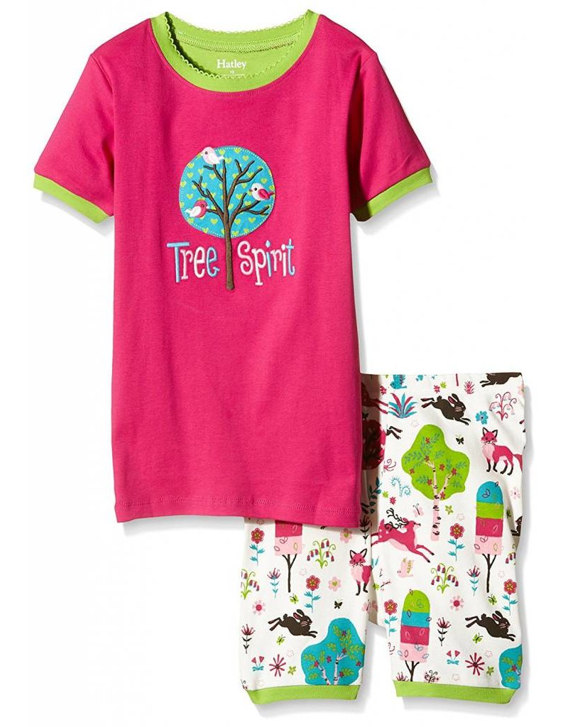 Hatley Hatley Girls 2-Piece Set Short Pajamas