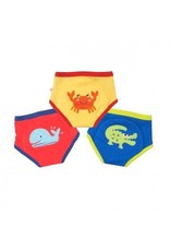 Zoocchini Absorbent Underwear Like Training Pants in Organic Cotton 3-Pack