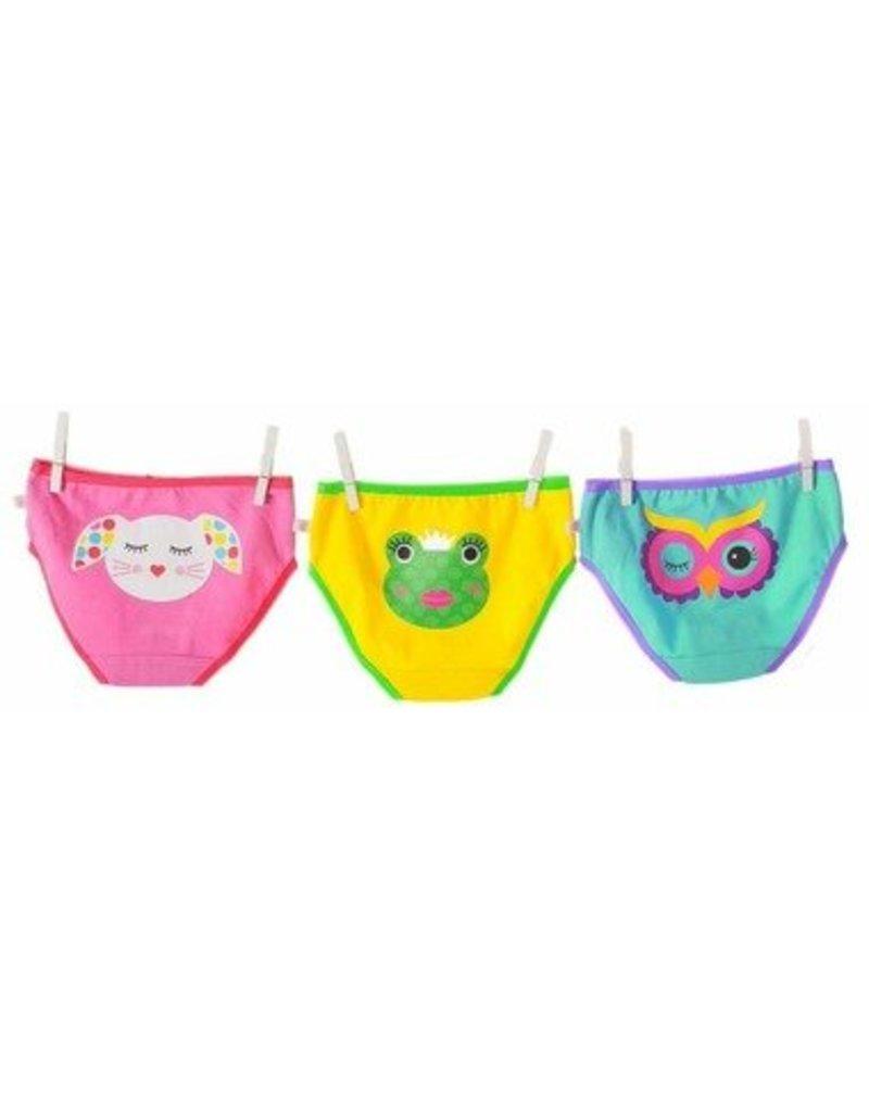 Zoocchini Organic Cotton Girls Underwear 3-Pack by Zoocchini