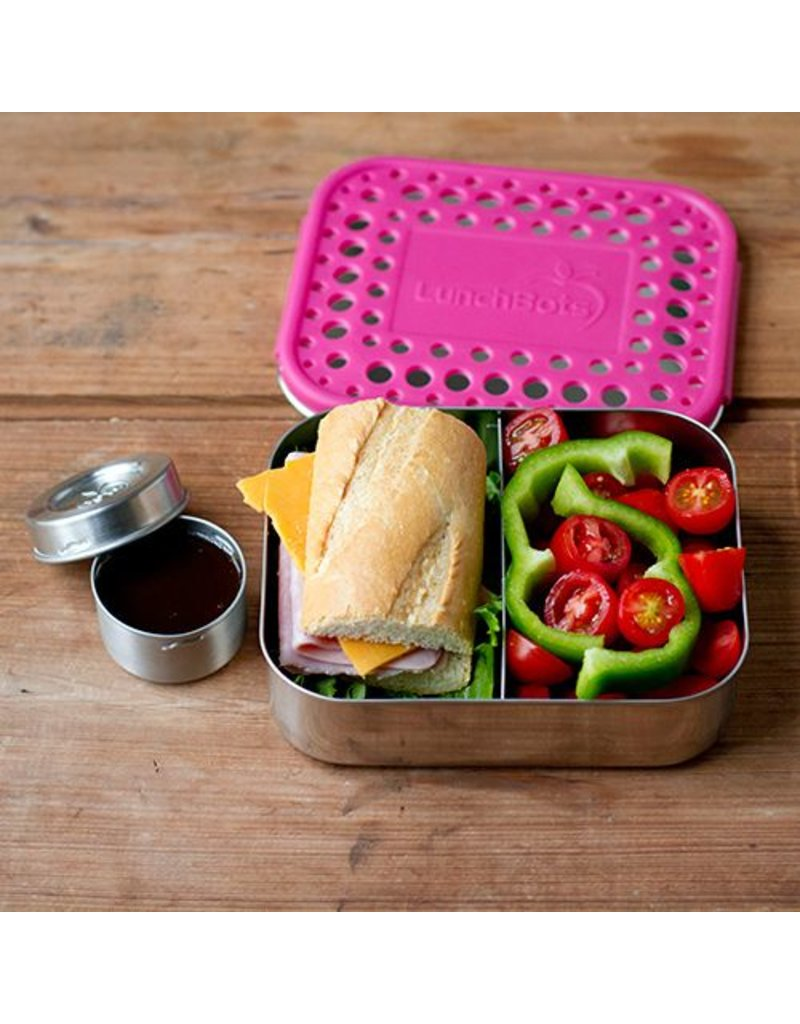 Lunchbots Duo Stainless Steel Bento Box by Lunchbots