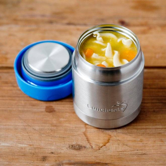 Lunchbots Stainless Steel Insulated Thermal Containers by Lunchbots